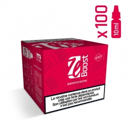 "PACK DE 100 BOOSTER DE NICOTINE 20 MG/ML ""ZE BOOST"""