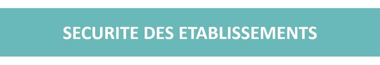 SECURITE D'ETABLISSEMENT<p>Vente, installation et entretien de systèmes d'alarme, vidéoprotection, générateur de brouillard et coffres-forts</p>
