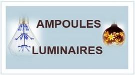 LUMINAIRES / AMPOULES