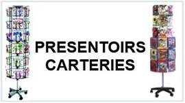 PRESENTOIRS CARTERIES